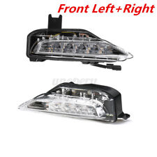 For Infiniti Q50 Q50S Sport Model 14-20 Pair Front Bumper Fog Signal Lamp Light