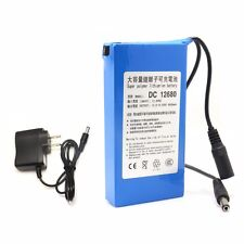 6800mAh 12V DC12680 Rechargeable Battery for Cameras camcorders