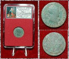 Coin King Of Spain FERDINAND VII Cross Castless And Lions On Reverse