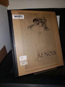 Renoir: Color Slide Program of the Great Masters HC McGraw Hill 20 Slides 1968