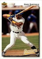 Lot Of 100 1992 Upper Deck Baseball Gary Sheffield Card # 234