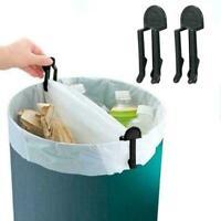 1 pcs Hause Praktische Müll Kann Abfall Bin Abfalleimer Halte Bag Clip Lock E9F8