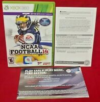 NCAA Football 14 - Case, Paperwork, Cover Art ONLY XBOX 360