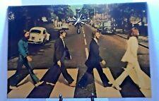 "Beatles Abby Road Vintage  Wall Clock 15"" X 22"""