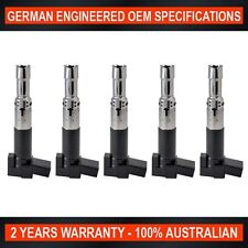 Set of 5 Ignition Coil for Volkswagen Passat V5 2.3L AZX Engine ref IGC-325
