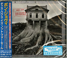 BON JOVI-THIS HOUSE IS NOT FOR SALE-JAPAN CD BONUS TRACK F56