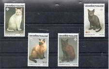 Thailandia Fauna Gatos serie del año 1995 (BZ-122)