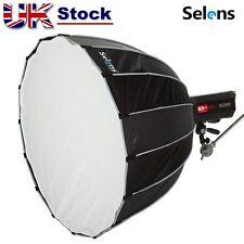 "Selens 90cm 35"" Umbrella Softbox Reflector Fr Bowens Studio Flash Photography UK"
