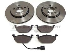SKODA RAPID 2013-2017 FRONT 2 BRAKE DISCS AND PADS SET (CHECK DISC SIZE 256MM)