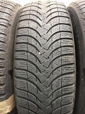 2x  4,5 -  5 mm Winterreifen 195 65 R15 95T Michelin Alpin A4