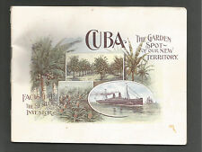 Rare Cuban Land & Steamship Company Investment Advertising Booklet - Late 1800s