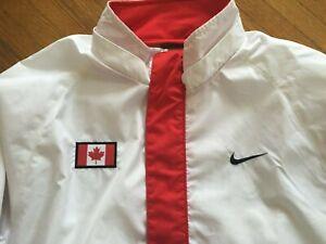 Nike Men Team Canada Olympic Track & Field Jacket Large