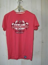 T.shirt Teddy Smith rose col rond  taille S (36 / 38) TBE