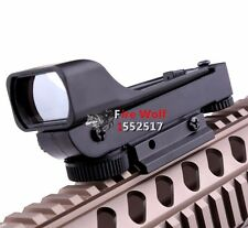 Tactical Reflex sight Red Dot Sight Scope Wide View for hunting airsoft Nerf