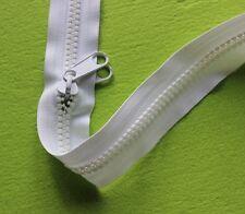 No.10 Chunky/Moulded/heavy duty zipper CHAIN, UV treated. WHITE