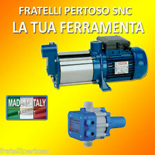 ELETTROPOMPA POMPA RSM3 SILENZIOSA MADE IN ITALY con PRESS CONTROL AUTOCLAVE