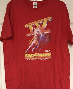 WCW-Four 4 IV Horsemen Wrestling Legends T-Shirt, WWE, WWF, RIC FLAIR
