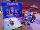 Vintage Playmobil Petrol Fuel Pump Station set box 3218  parts spares