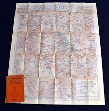 1969 La Maladeta Folding Map Small Booklet Spain Pyrenees Int  IN SPANISH