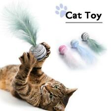 New listing Delicate Cat Toy Balls Feather High Quality Eva Material Light Ball Throwing