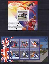 Comoros 2010  Sport Handball Judo Basket-ball  on postage stamps MNH** WL