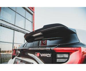 Spoiler Heckspoiler für Toyota Yaris GR Mk4 ABS Maxton Dachspoiler Lippe Glanz