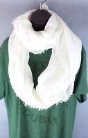 NEW Old Navy Creamy White Color Shawl Wrap Scarf  Size Fringe Edge NWT Acrylic