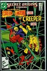 DC Comics SECRET ORIGINS #18 Golden Age GREEN LANTERN And The CREEPER NM- 9.2