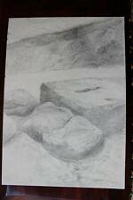 DDR Maler Professor Peuker Wolfgang Bleistift Zeichnung Original  Studien