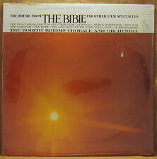 SEALED UNPLAYED ROBERT RHEIMS CHORALE & ORCH. THEME FROM THE BIBLE AND .. LP