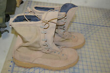 army combat boot cold weather 12 R addison regular goretex leather tan desert