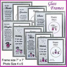 photo frames sentimental mirror glass mum nanna daughter sister grandma auntie