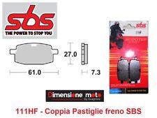 111HF - CP Pastiglie Freno Anteriori SBS Ceramic x ADLY Road Tracer 100 dal 2002