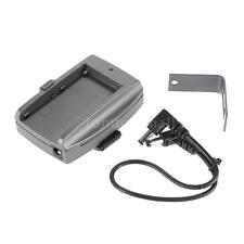 DSLR Camera Battery Adapter Plate Base with DC Cable for SONY NP-F 970 F750 F550
