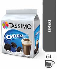 TASSIMO Oreo Hot Chocolate Capsules Pods Refills T-Discs Pack of 8, 64 Drinks