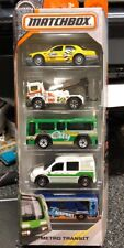 Matchbox 5-Pack 65th Anniversary Metro Transit 1:64 NIP Buses Taxi Tow Truck