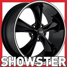 """17x7 17x8 17"""" Foose Legend Wheels black F104 Holden HQ WB Chevy Camaro Impala"""