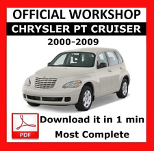 >> OFFICIAL WORKSHOP Manual Service Repair Chrysler PT Cruiser 2000 - 2009