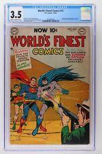 World's Finest Comics #71 - DC 1954 CGC 3.5 Superman & Batman Begin as a Team!