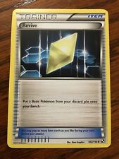 REVIVE Pokemon Card BLACK & WHITE 102/114 NEW Mint / Near Mint TRAINER Item x1