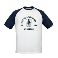 Sheffield Wednesday F.C - Personalised Mens T-Shirt (BASEBALL VINTAGE #)