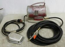 Vintage Craftsman Airbrush Air Compressor with Hose, Blow Gun & Foot Pedal