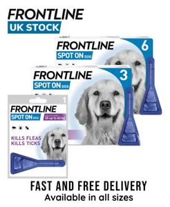 Frontline Spot On for Large Dog | Flea Tick Treatment | 1 2 3 6 Pipette AVM-GSL