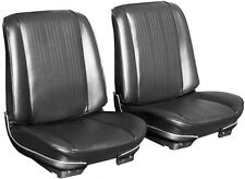 1967 Pontiac GTO / LeMans Bucket Seat Covers - Front Only - Black