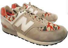 SIZE 10 1/2 D NEW BALANCE 576 MAN SHOES SNEAKERS GRAY SUEDE MADE IN USA EUC 992