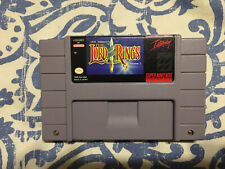 j r r tolkien lord of the rings SNES Lord Of The Rings Super Nintendo