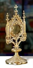 MS821 Sudbury Brass Cross Reliquary 11 inch tall by 5 inch wide for Church Altar