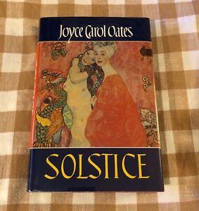 Joyce Carol Oates - Soltice 1985, Hardcover dust jacket 1st edition printing