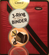 Case It 3 Ring 1 34 Zippered Binder New