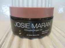 JOSIE MARAN WHIPPED ARGAN OIL BODY BUTTER TOASTED BROWN SUGAR 8 OZ READ DETAILS